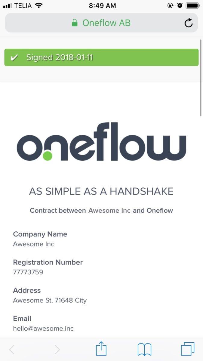 So ist die Vertragsverwaltung uns ein Anliegen geworden – Oneflow