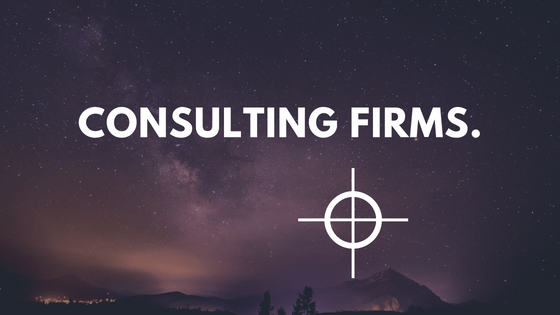 consulting firms contract management