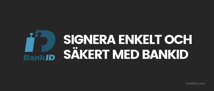 signera med bankid logo