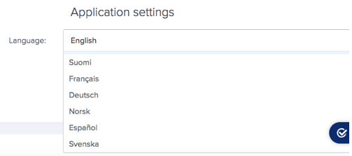 languages in oneflow app