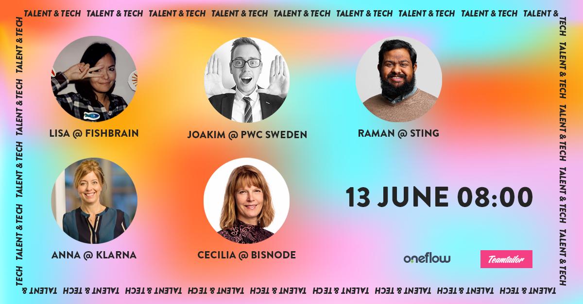 Talent & Tech Speakers