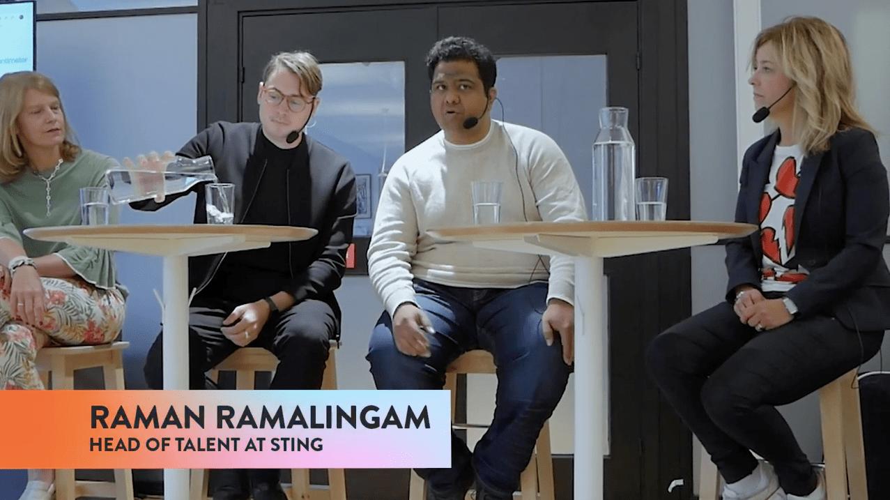talent tech raman ramalingam sting