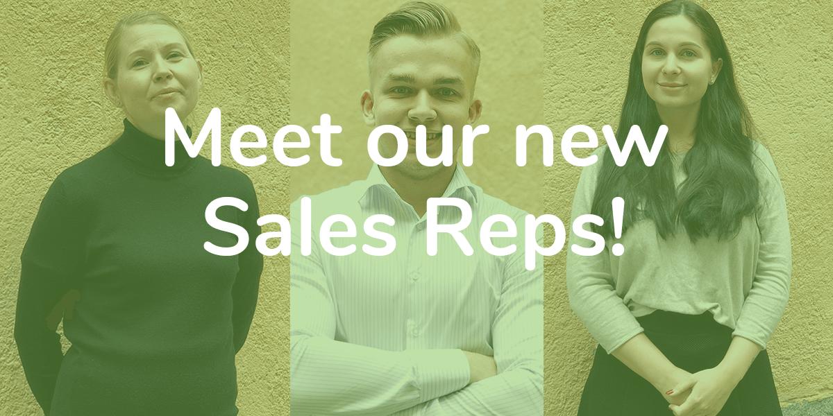 new sales reps oneflow