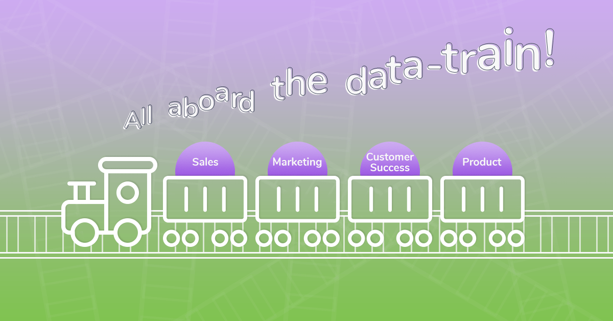 Get all departments on board the data train