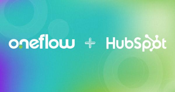 Webinar oneflow and hubspot