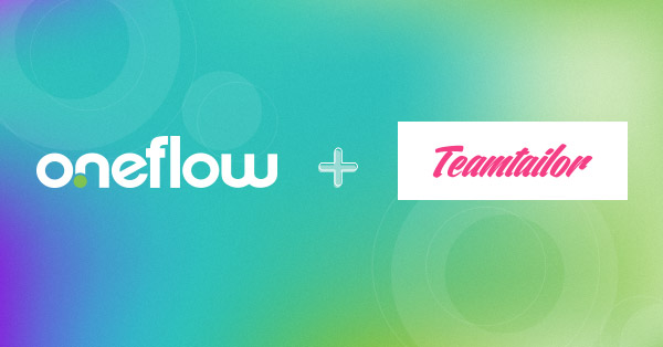 webinar oneflow and teamtailor