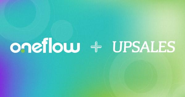 webinar oneflow and upsales