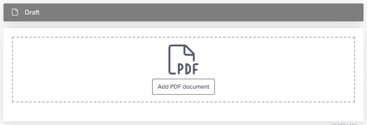 upload pdf contract