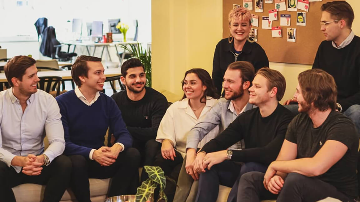 Photo of the Oneflow team