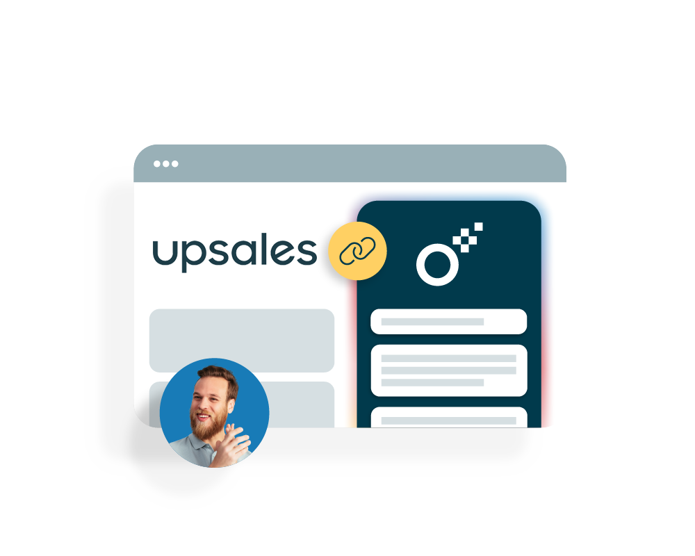 upsales integrate with Oneflow